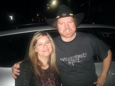 Lisa Weyerhaeuser and Rex Carroll