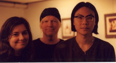 Lisa Weyerhaeuser and Max Hsu