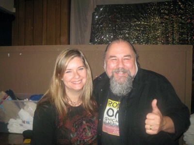 Lisa Weyerhaeuser and Glen Kaber