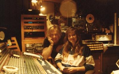 Lisa Weyerhaeuser and Larry Norman