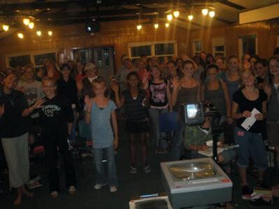 Lisa Weyerhaeuser at Phantom Ranch Bible Camp
