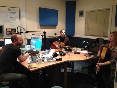 UK tour 2013 interview with Julien Crispen, Motherwell, Scotland. With Mark Banach.