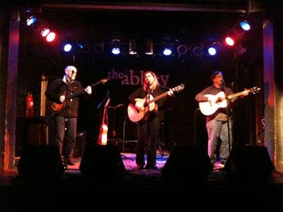 Abbey Pub, withJohn Payne and Mark Banach.