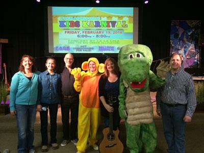 La-La-Lisa and the Big Green Alligator Band.