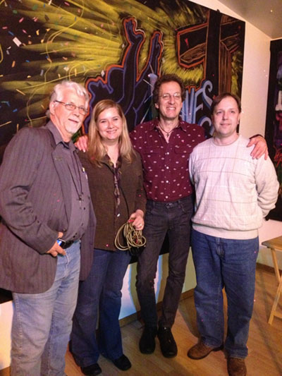 Opening for Randy Stonehill 2013. With Dave Fogdurud and Mark Banach.